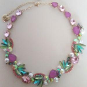 Betsey Johnson New Kitty Purple Necklace